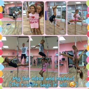 Kids pole